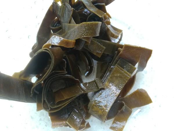 卤海带魔芋的家常做法