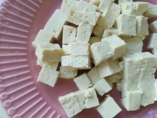 豌豆肉末豆腐羹的做法图解