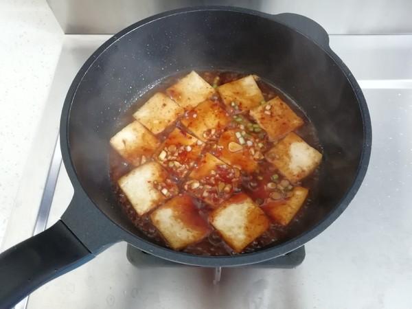 香辣煎豆腐的简单做法