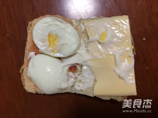 快手早餐三明治怎么炖
