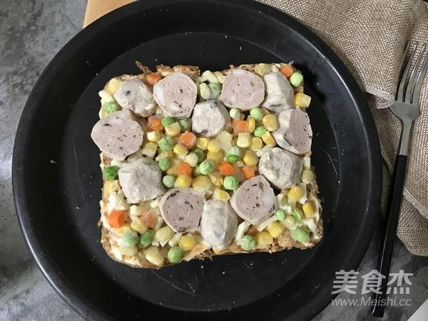 牛肉丸吐司披萨怎么煮