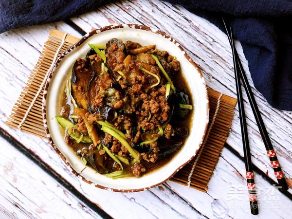 肉末茄子——剩肉馅的好去处怎么煮