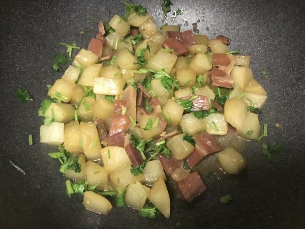 金华火腿煨萝卜怎么煮