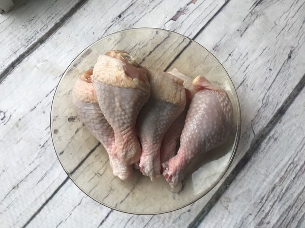 蜜汁烤鸡腿的步骤
