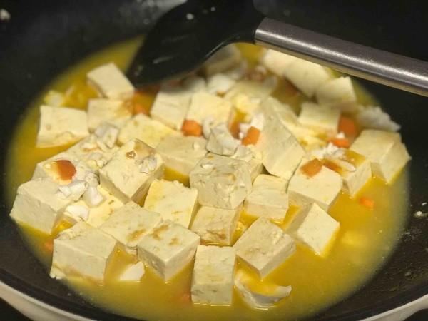 蟹黄豆腐怎么吃