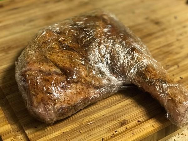 烤羊腿怎么吃