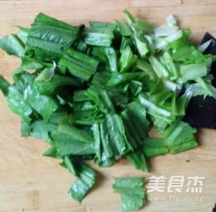 香辣芝麻油麦菜的家常做法