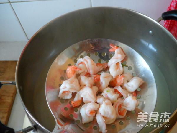 西兰花炒虾仁怎么吃