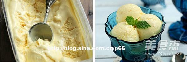 榴梿冰淇淋的步骤