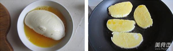 火腿鸡蛋馒头套餐的做法图解