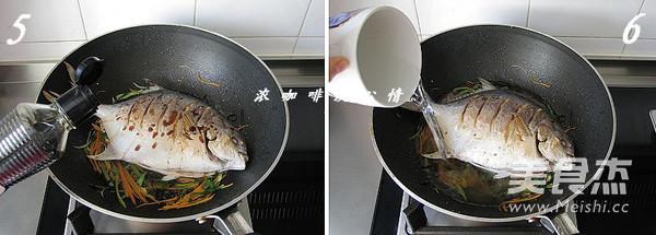 五柳烧鱼的家常做法