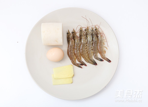 虾丸萝卜汤的步骤