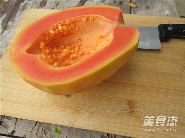 酸甜拌木瓜的做法图解
