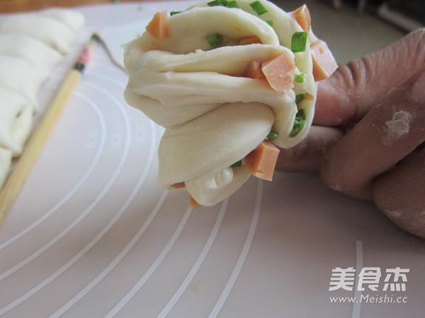 火腿葱香花卷怎样煮