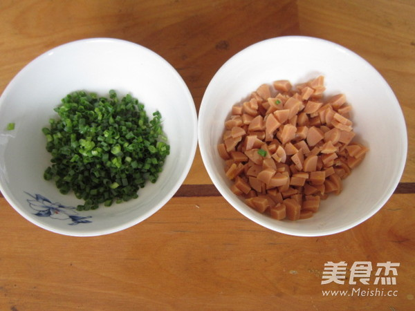 火腿葱香花卷的简单做法