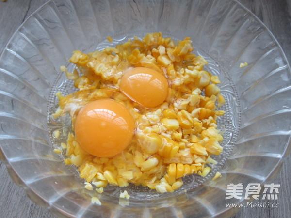 玉米鸡蛋饼的家常做法