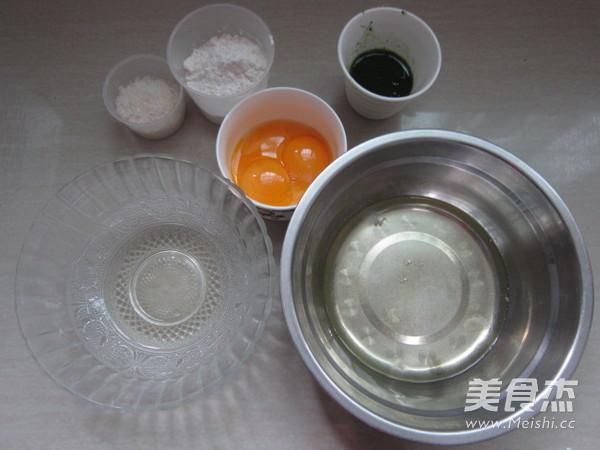 波菜戚风蛋糕(超详细后蛋法)的做法大全