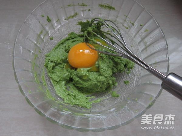波菜戚风蛋糕(超详细后蛋法)的简单做法