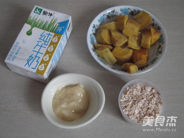 燕麦红薯牛奶糊的做法大全