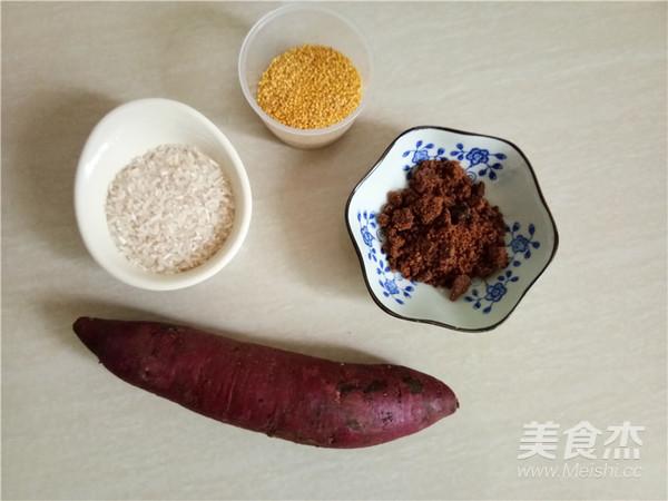 紫薯小米糊的做法大全