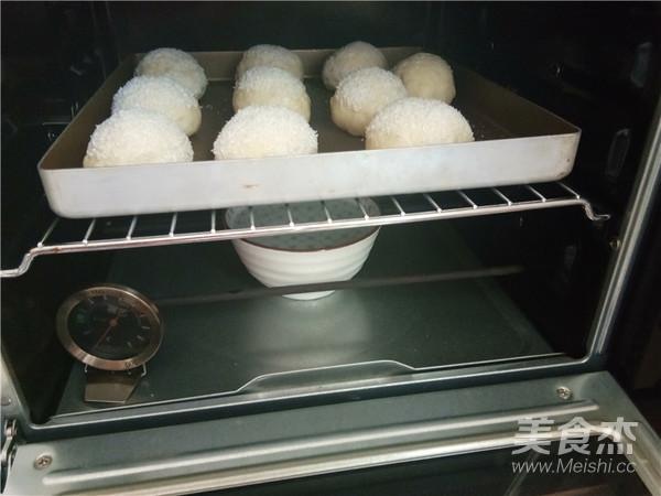 椰香奶酥面包的制作大全
