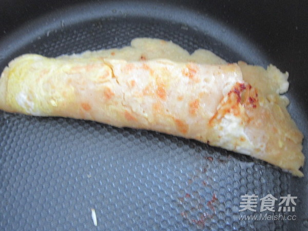 土豆丝卷饼的步骤