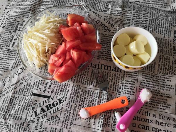 番茄金针菇豆腐的做法大全