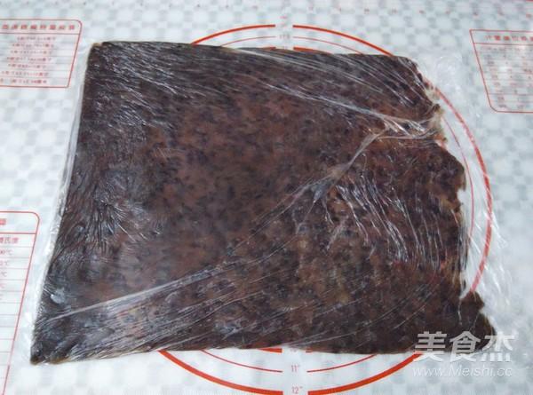 大理石纹红豆吐司的简单做法