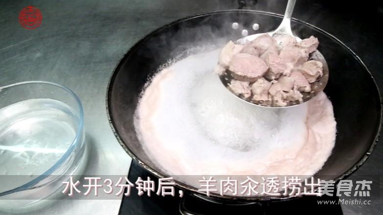 羊肉山药汤的家常做法