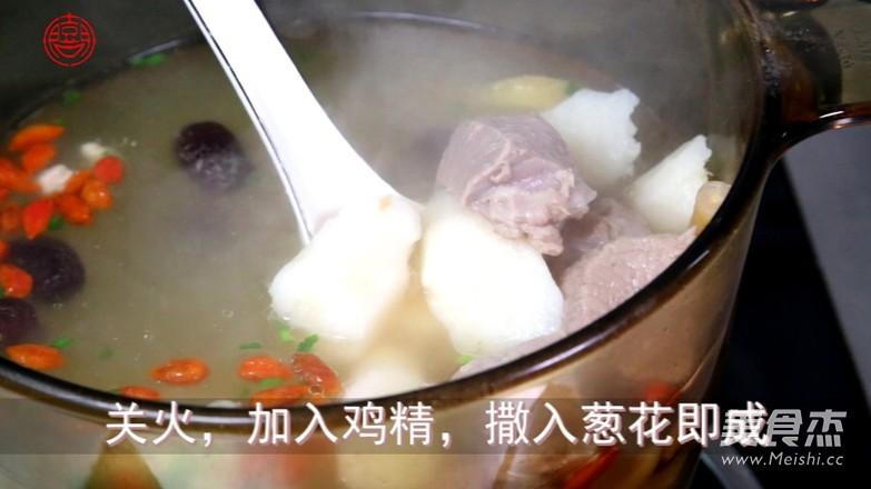 羊肉山药汤怎么吃