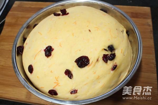 南瓜蔓越莓排包的简单做法