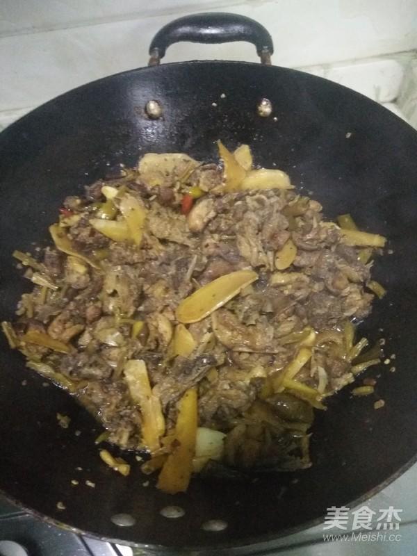 泡椒仔姜鸭肉怎么吃