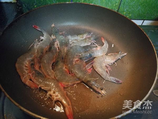 莲藕明虾的家常做法