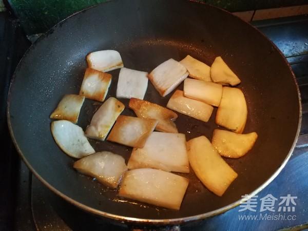 五花肉焗时蔬的家常做法