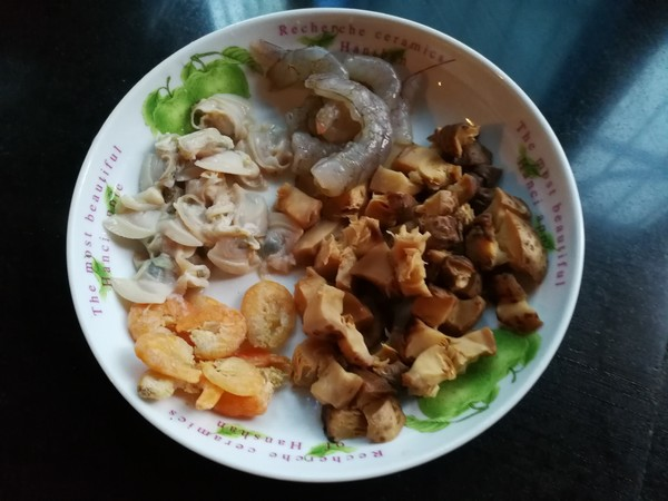 海鲜菜泡饭的做法图解