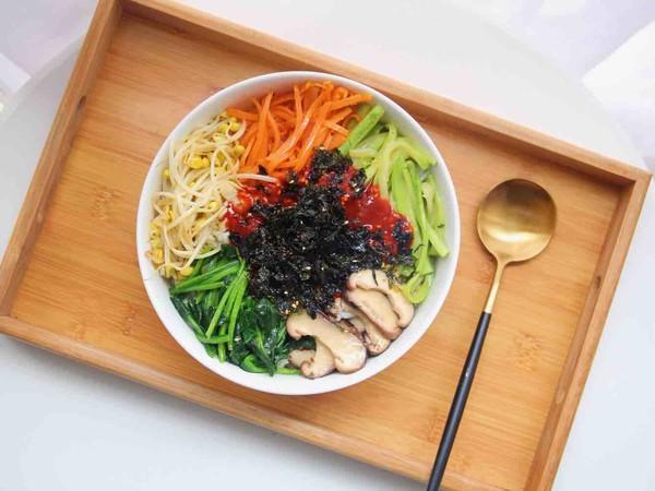 韩式拌饭怎么做