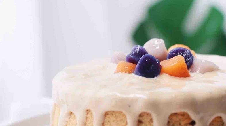 芋圆爆浆奶茶蛋糕的做法大全