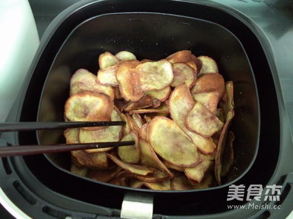 炸红薯片怎样做