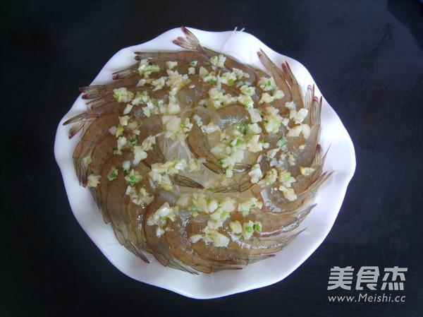 蒜蓉粉丝蒸虾的简单做法