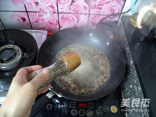 香菇牛肉羹怎样煸