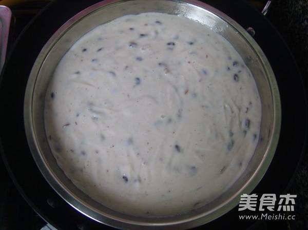 椰汁红豆糕的制作