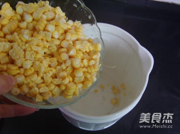 鲜榨玉米汁的家常做法