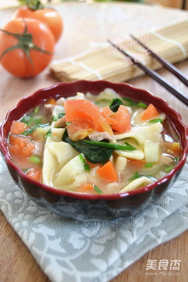新疆汤饭成品图