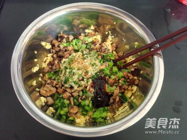 香菇油菜包子怎样煮