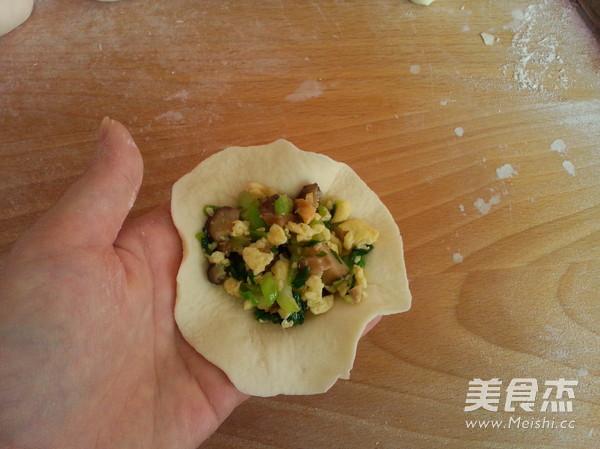 香菇油菜包子的做法大全