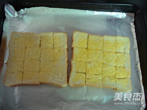 黄油烤吐司的简单做法