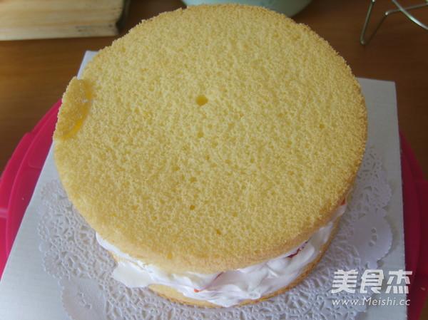 水果生日蛋糕的步骤