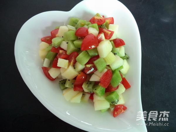 水果沙拉的步骤