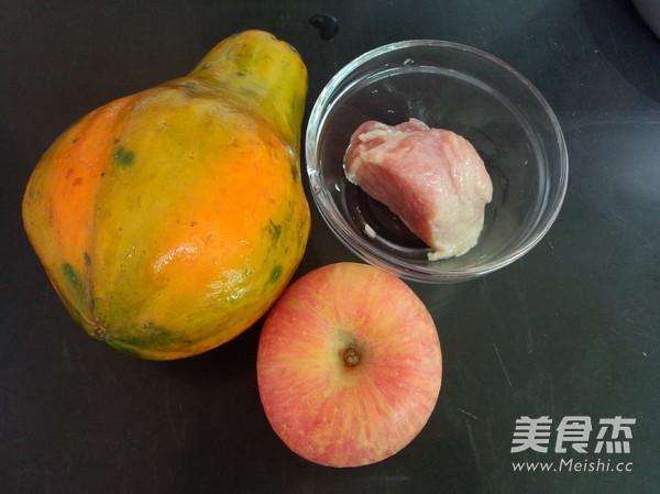 木瓜苹果汤的做法大全
