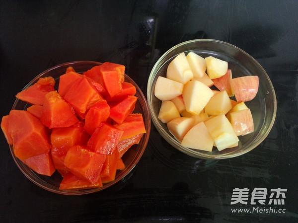 木瓜苹果汤的简单做法